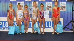 Gimnaste de la CS Victoria Cumpăna, medaliate la un turneu. FOTO Primăria Cumpăna