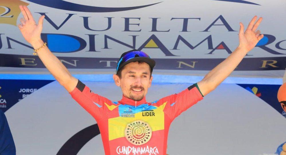 Álvaro Gómez nuevo líder de la Vuelta a Cundinamarca