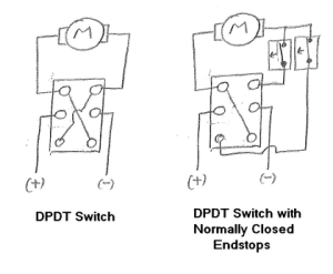 How to wire a DPDT Switch to a Motor  CunningWiki