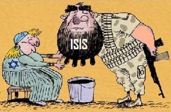 caricatura isis