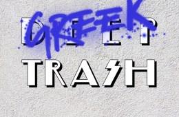 open-call-deep-trash-greek-trash-logo