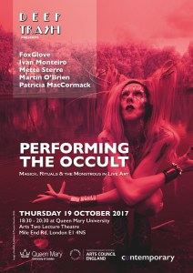 Performing the Occult - Poster