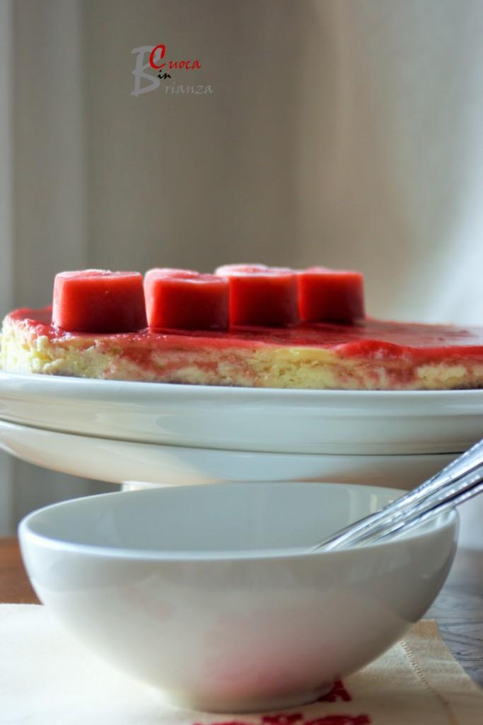 torta cuore lamponi 6