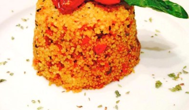 Cous cous con pesto pantesco