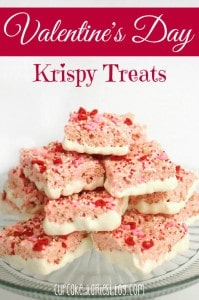 Valentine Krispy Treats
