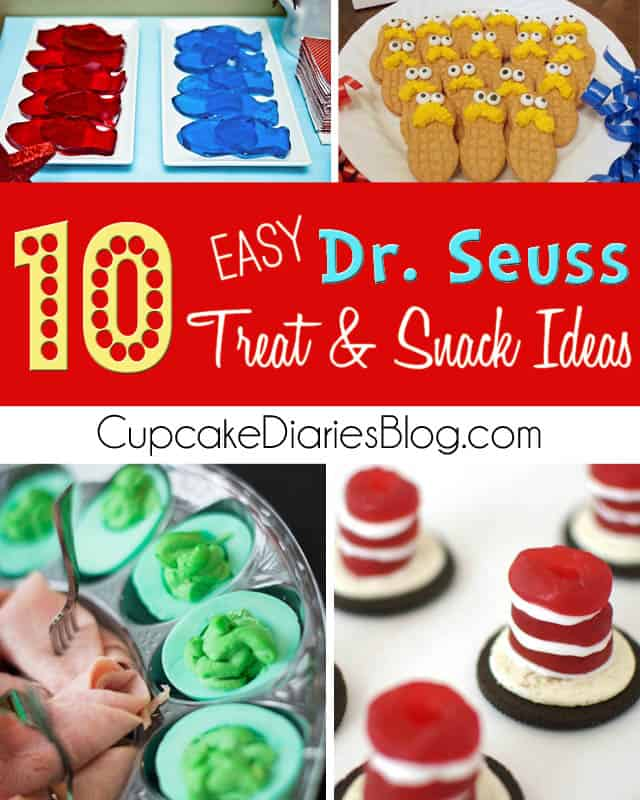 10 Easy Dr Seuss Treat And Snack Ideas