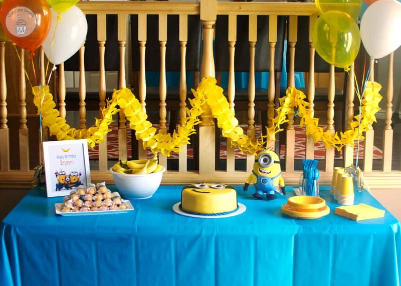 Minion Birthday Party With Free Printables