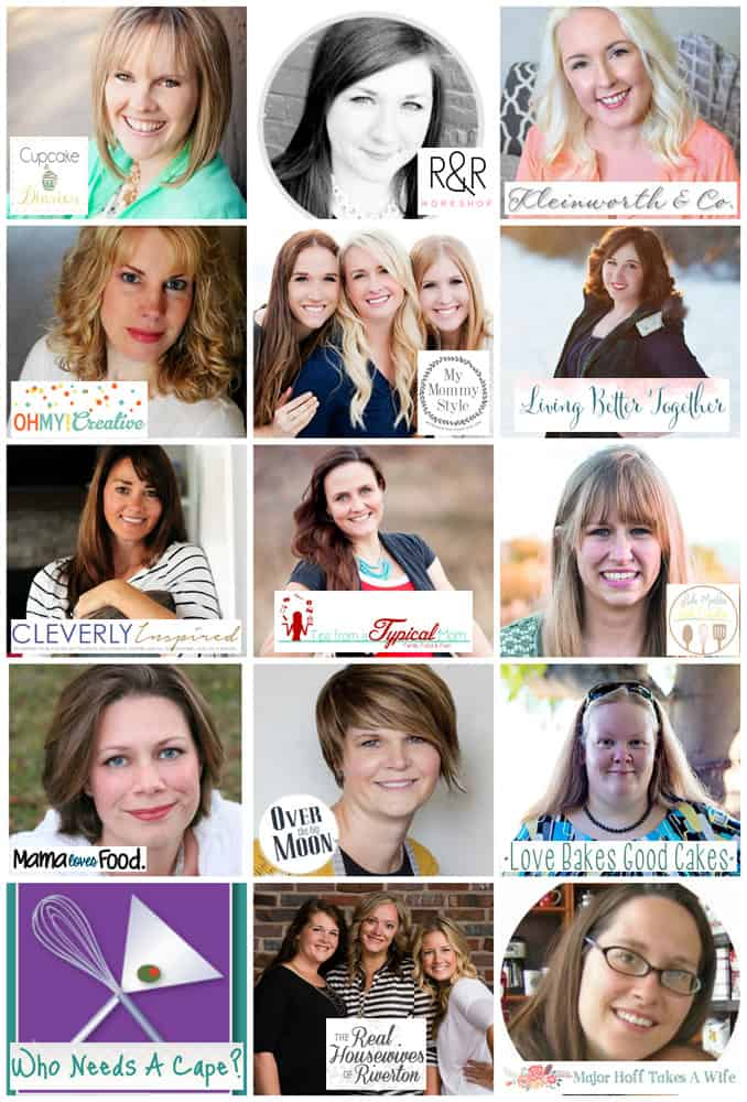 Cupcake Diaries 5th Blogiversary KitchenAid Giveaway - Bloggers