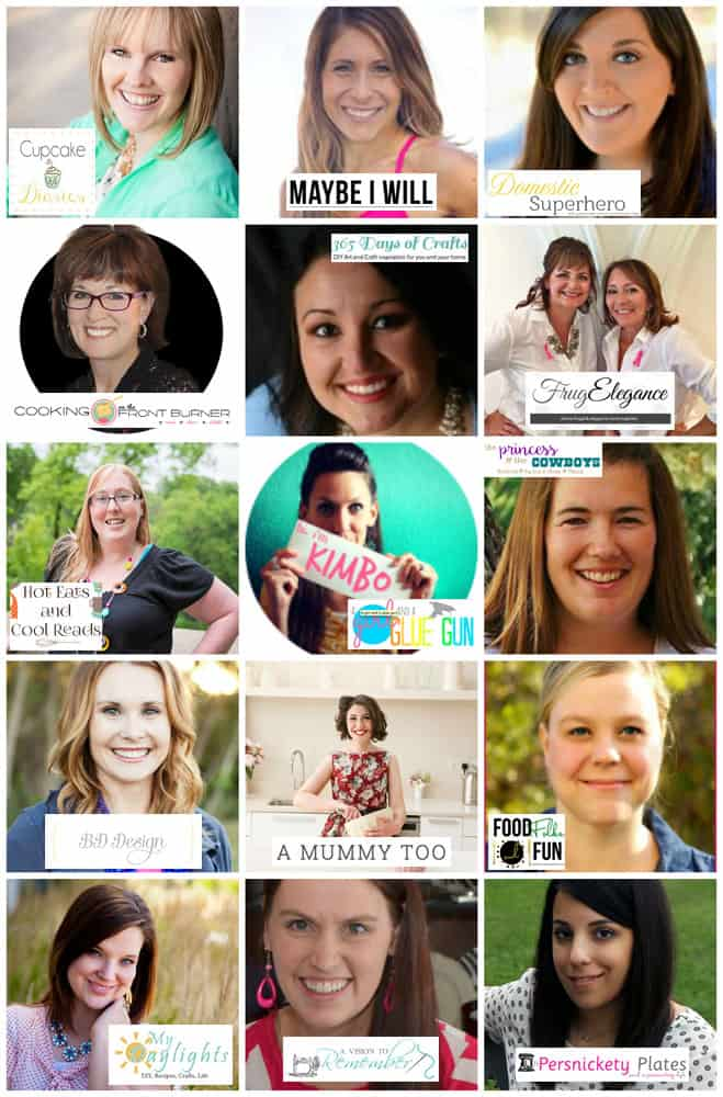 Cupcake Diaries 5th Blogiversary Bloggers