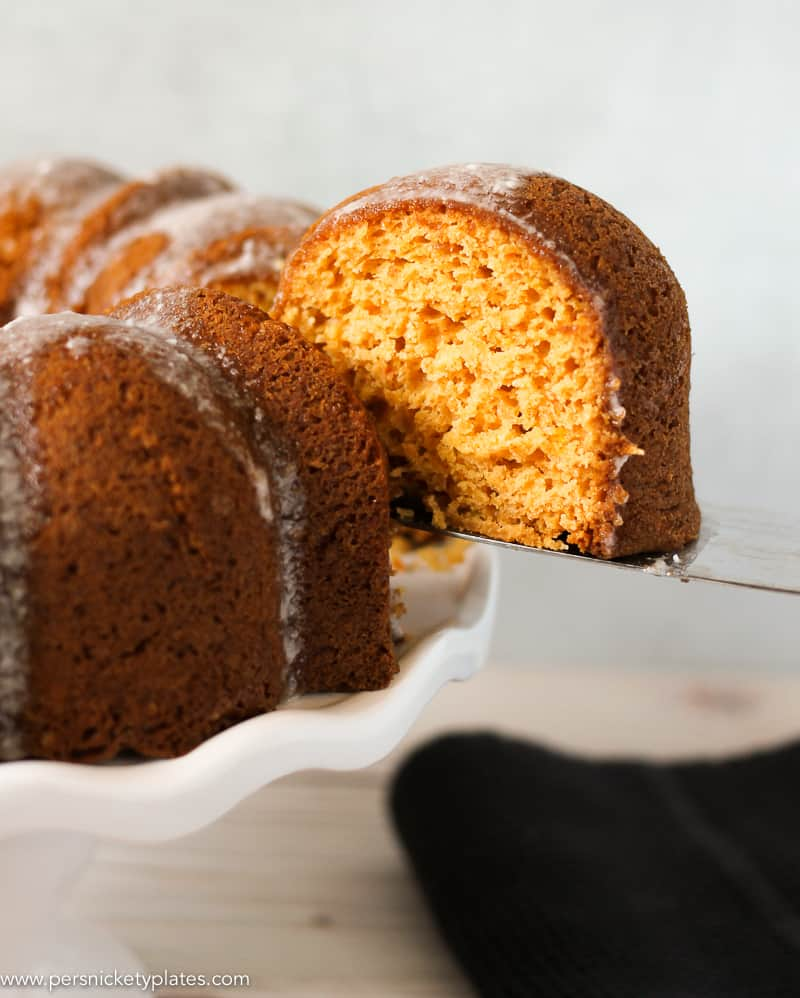 Butterscotch Bundt Cake
