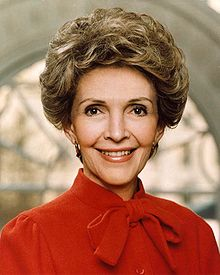 nancy reagan first lady