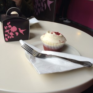 Hummingbird Bakery Red Velvet Cupcake London