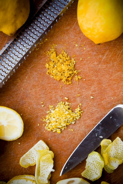 Lemon Uses Lemon Zester Zesty Recipe Lime Peel Lemon Rind Cocktail Garnish Cutting Board