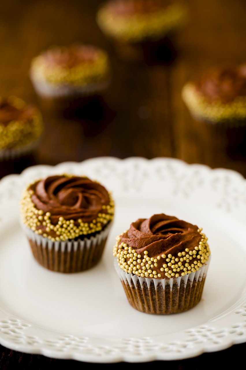 Intense Chocolate Mousse Cake