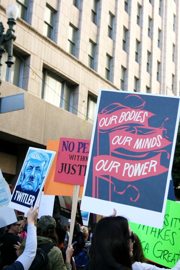 Women March Los Angeles Photos twittler