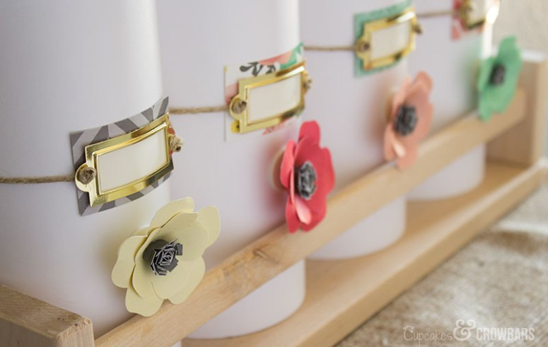 Three Dimensional Inspire Wall Art | Cupcakes&Crowbars