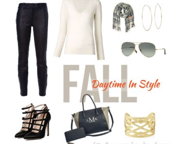 Fall Daytime Fashion | Cupcakes&Crowbars