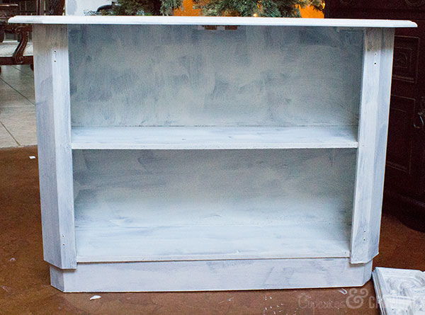 Nana's Old Cabinet Makeover - Before | Fab Furniture Flippin Contest | General Finishes Chalk Paint