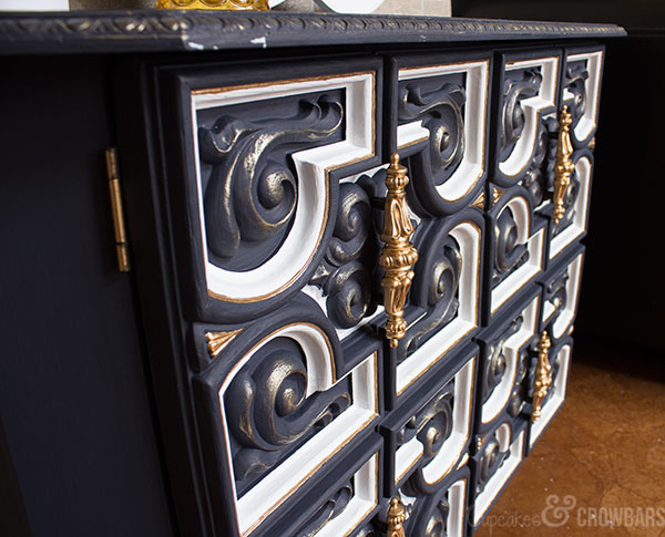Nana's Old Cabinet Makeover | Fab Furniture Flippin Contest | General Finishes Chalk Paint