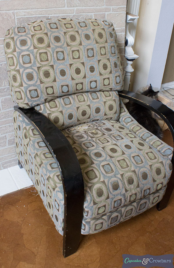Coastal Inspirations Chair Makeover with Saltwash | C&C