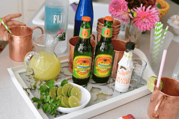 Serve this Moscow Mule at your Mules and Jewels themed Stella and Dot party.