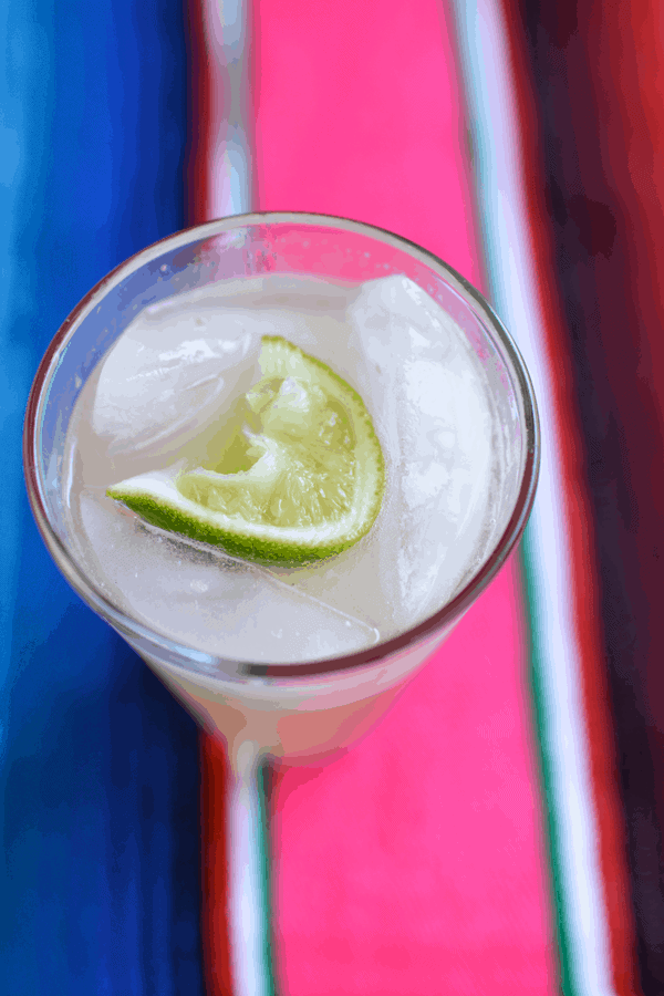 Mexican Mule cocktail recipe with tequila and ginger beer.