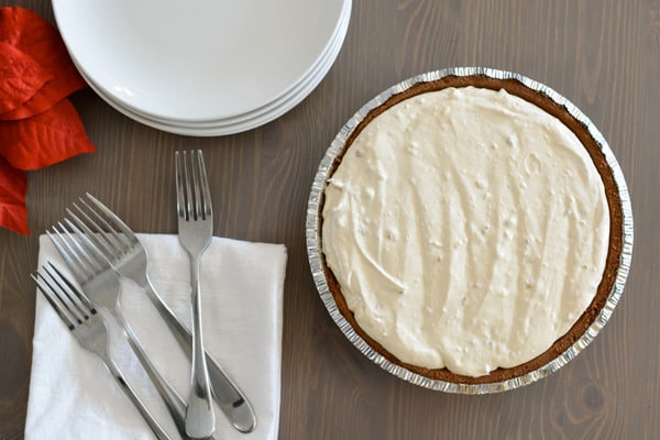 Easy Peantu Butter Pie recipe for christmas