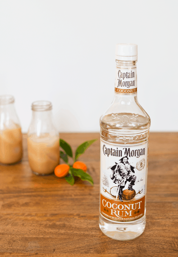 Coconut Rum makes a delicious White Russian cocktail.