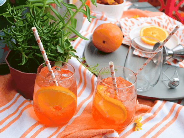Aperol Spritz Recipe. Perfect for happy hour with friends.