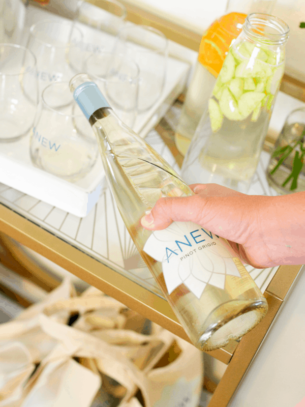 Girl's Night in With Anew Wine
