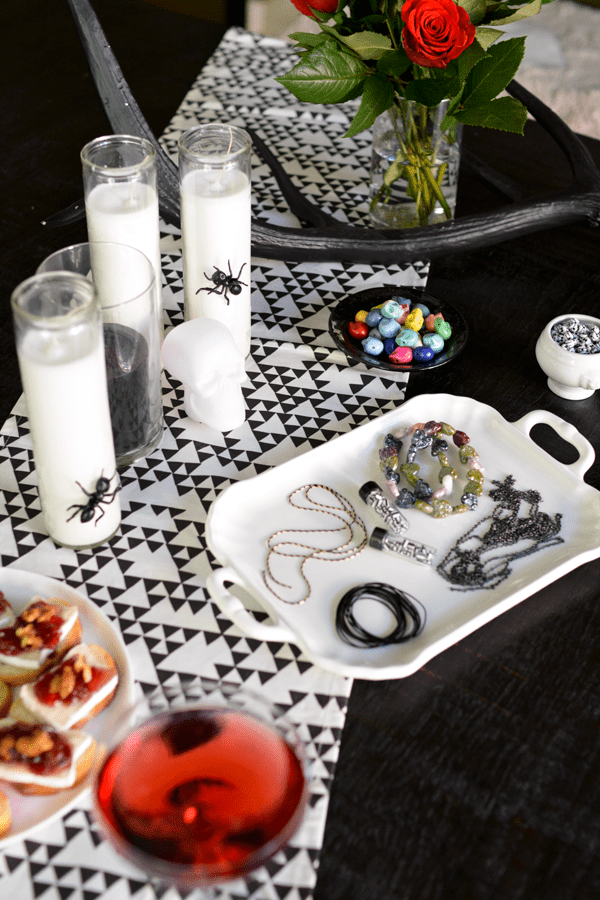 homemade halloween decoration ideas with diy candles