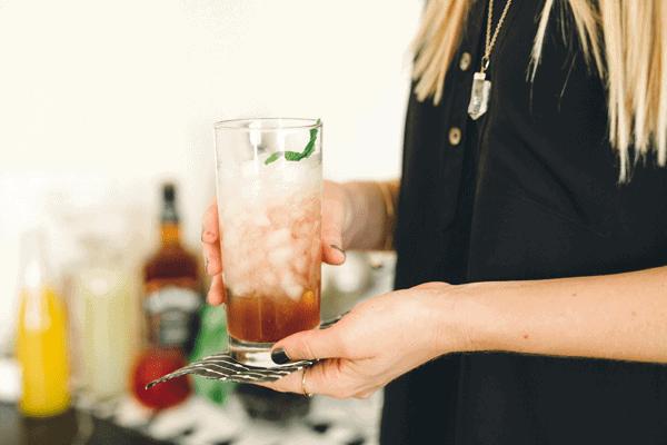 Bourbon Champagne Cocktail