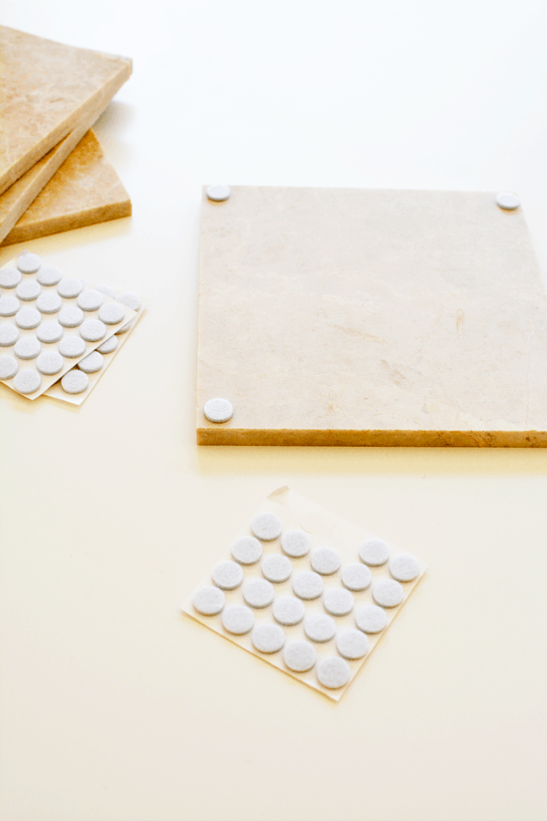 How to make your own DIY modern trivet for your holiday meals.