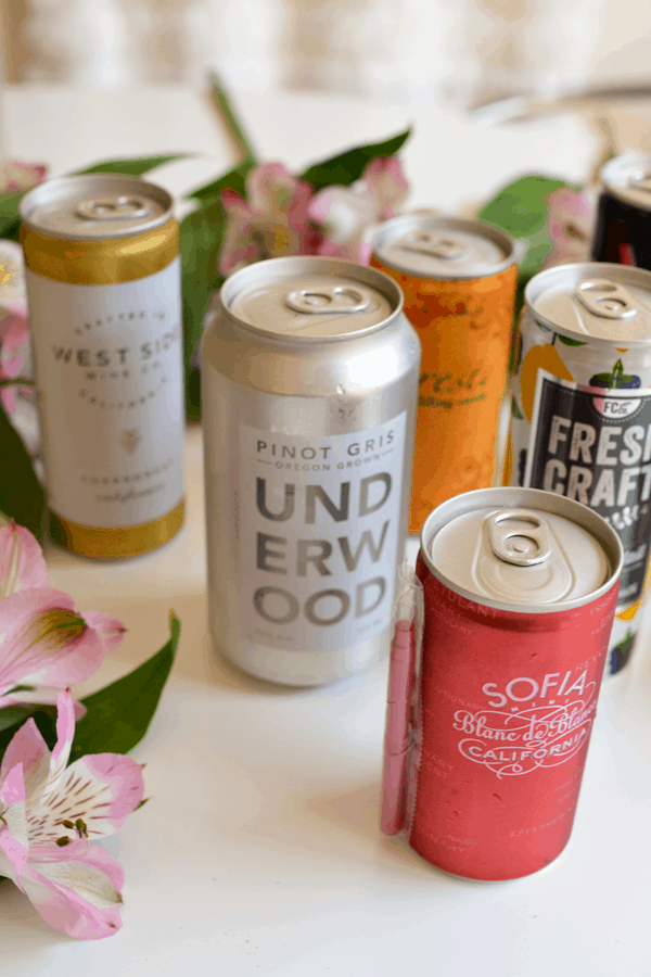 I created a guide to the best canned wine that you're going to love!