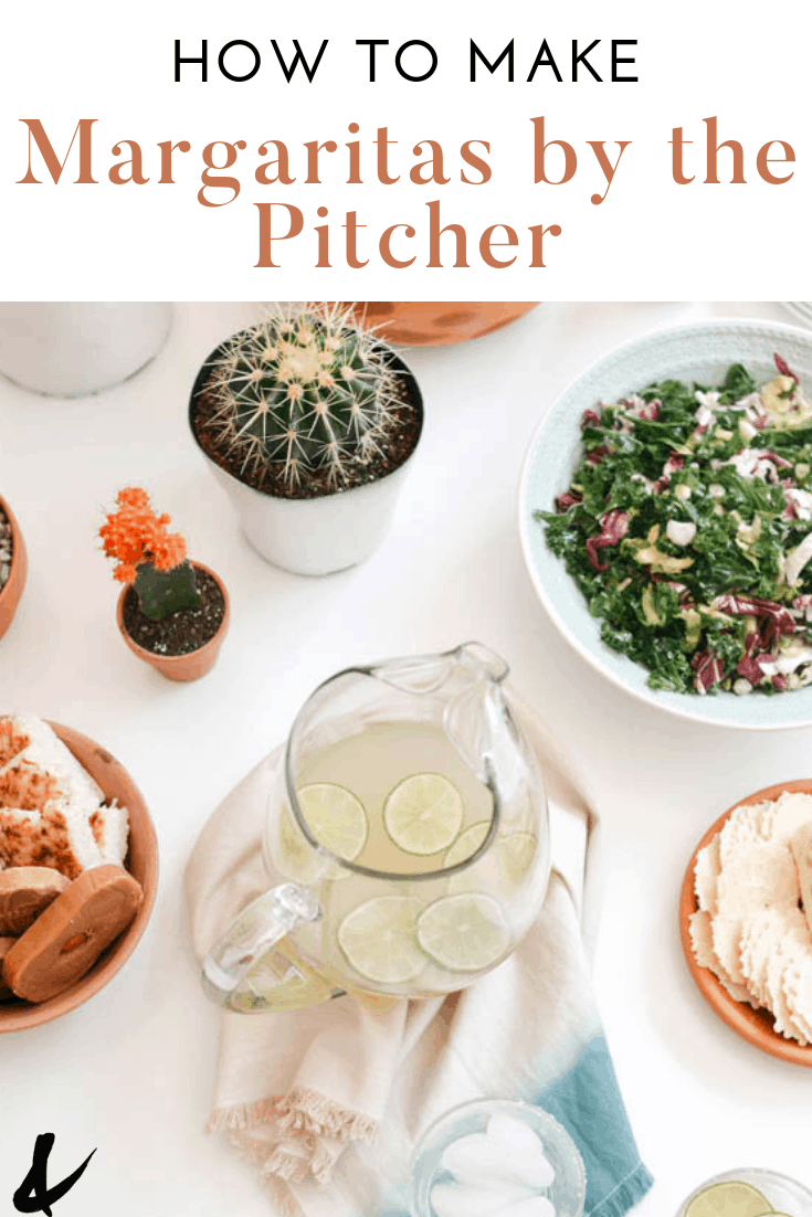 how to make margaritas by the pitcher