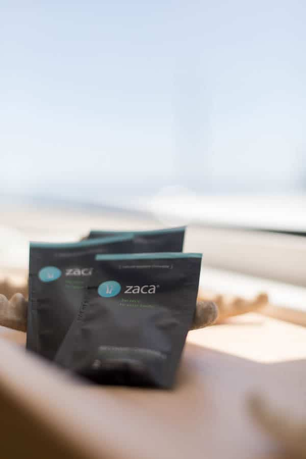 Zaca recovery tablets for drinking