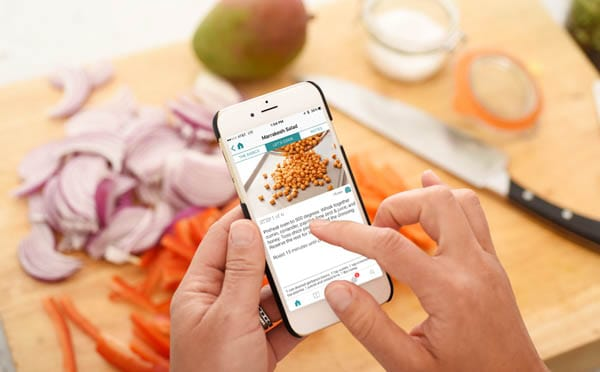This family meal planner app will give you quick and easy dinner ideas right to your phone