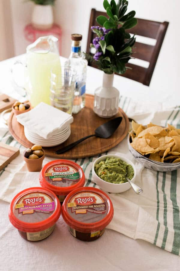 Chips and Salsa for your game day and other football parties.