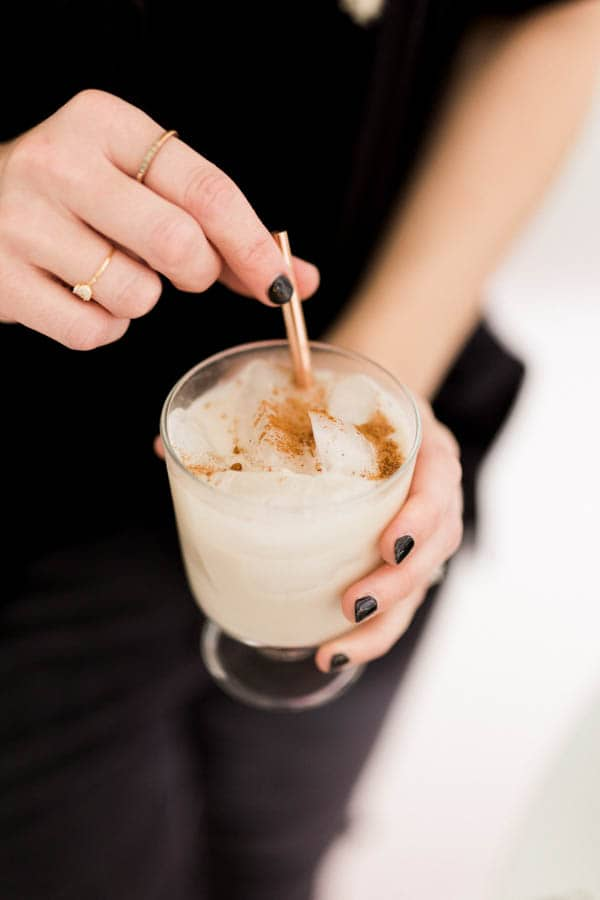 Easy and delicious Milk Punch Recipe with Bourbon.