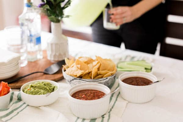 Mexican food for your next football party.