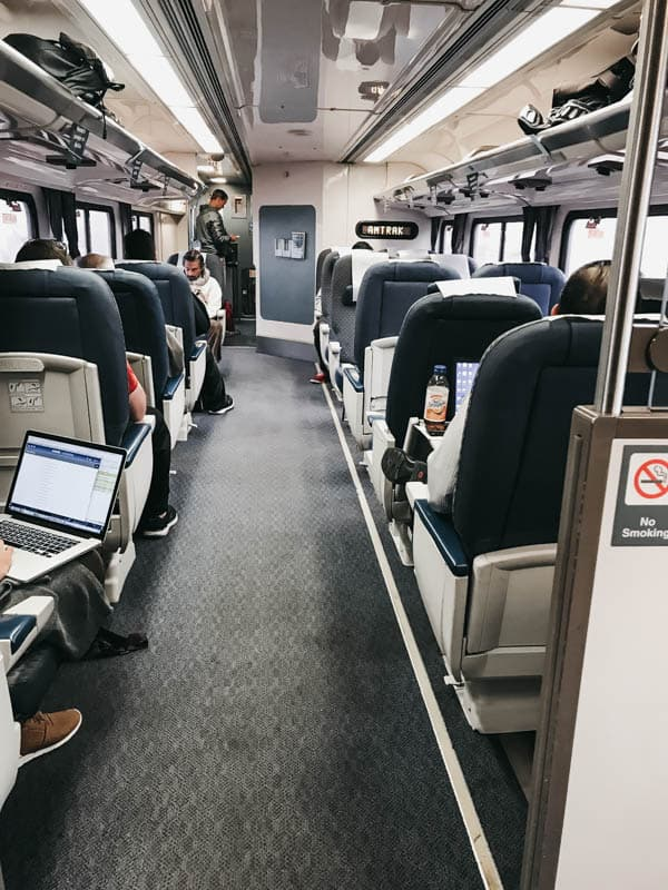 Taking the Pacific Surfliner for a quick getaway is the best way to travel