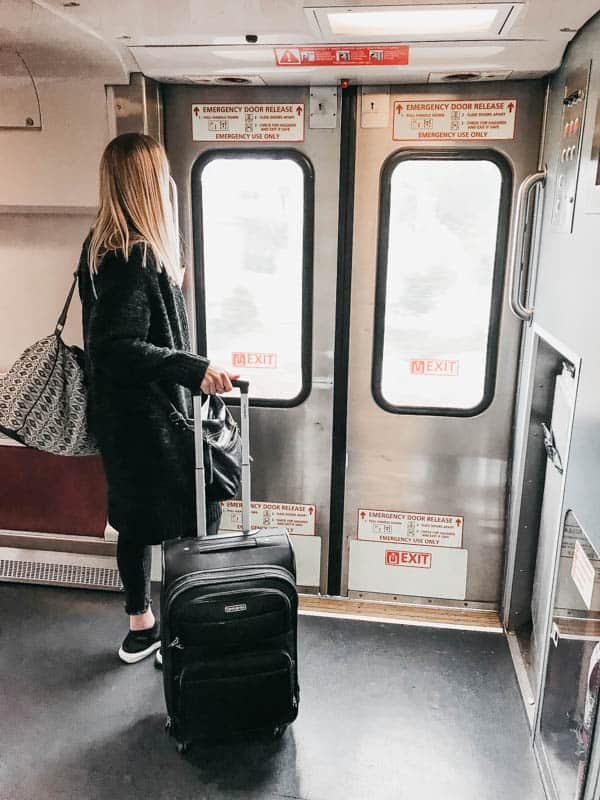 The Pacific Surfliner is a great way to travel for a little getaway