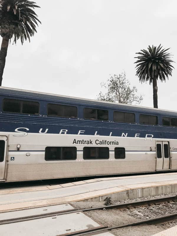 Amtrak's Pacific Surfliner is a great way to travel the coast of California.