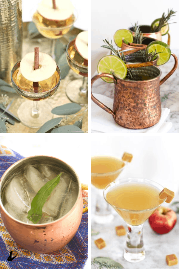 delicious fall cocktails to make at home