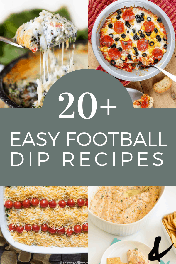20 plus tailgate dips for your game day party