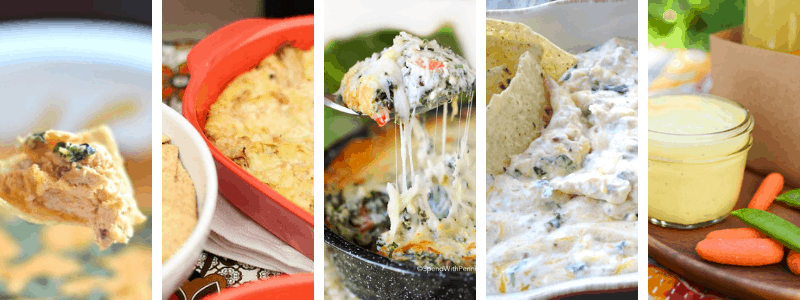 best football dips to make for your football party