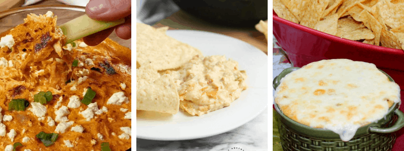 easy dip recipes for your football party