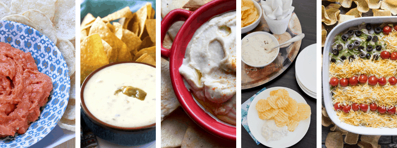 tailgating dip recipes for your football party