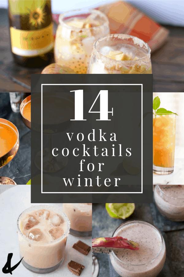 vodka cocktails to make in winter
