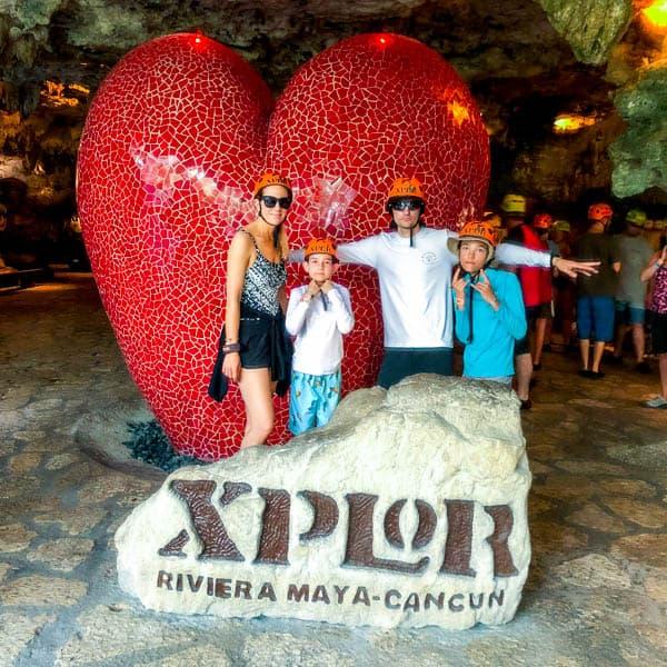 Xplor Park in Cancun for the Non-Adventurer